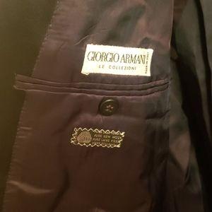 Giorgio Armani Suits & Blazers - Giorgio Armani Black Blazer Tuxedo Size 44L
